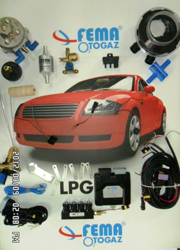 AUTOGAS LPG CNG CONVERSION SYSTEMS - LPG Sequential System Complete Kit For 4 Cyl.