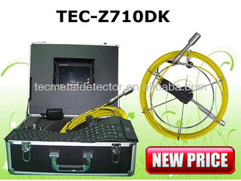 best sell drilling pipe sewer camera inspection with dvr tec z710dk buy drilling pipe sewer. Black Bedroom Furniture Sets. Home Design Ideas