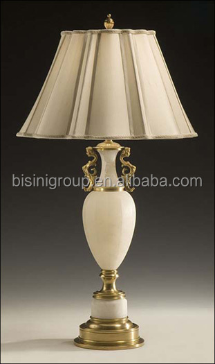 Elegant luxury brass alabaster table lamp with white lamp shape elegant luxury brass alabaster table lamp with white lamp shape antique alabaster table lamp bf11 mozeypictures Image collections