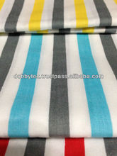 Plain Printed Stripe fabric for dish washer and garment