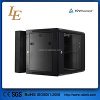China manufacturer good quality glass door data center 19 inch 2u 6u 18u network rack wall mounted cabinet