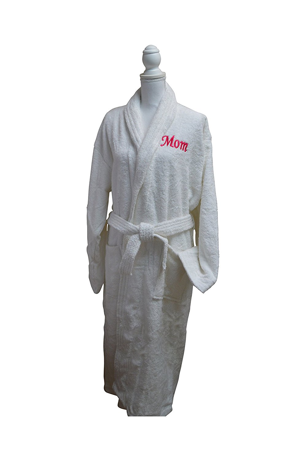 Get Quotations · Resort Spa Home Decor Mom Customized Monogrammed Embroidered  Luxury White Terry Cotton Spa Robe – b06843d69