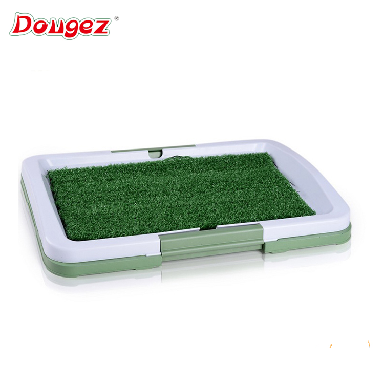New design hot selling indoor dog toilet puppy potty pad pet dog grass mat