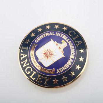 High Quality Cheap Metal Cia Badge