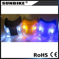 SUNBIKE factory direct sale nice well led bike 2 light silicone