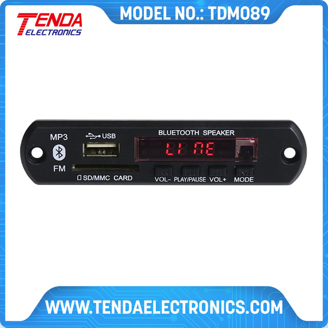 USB TFMP3 PLAYER MODULE WITH BLUETOOTH