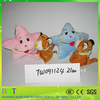 High quality musical small tiger cute star plush baby toy