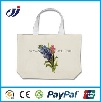 Customized Heavy Duty Canvas Tote Bags Custom No Minimum