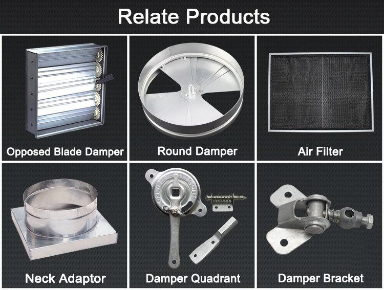 Damper Quadrant Handle For Volume Control Hvac Dampers