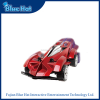 Wholesale red plastic wireless RC toy car with super grip tires