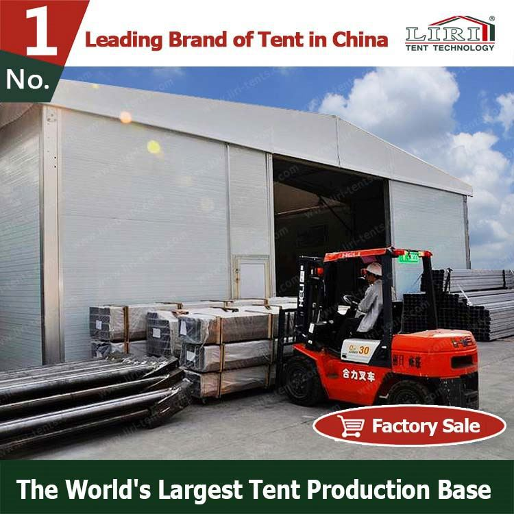 40mx30m industrial heavy machine display tent for displaying