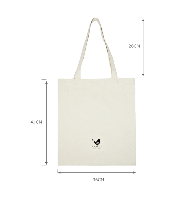 Canvas Tote Bag Rope Handle/plain White Cotton Canvas Tote Bag ...