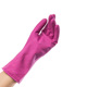 Funny winter glove worker for using and cleaning or hair salon glove