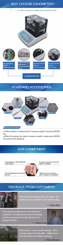 NEW Design 2 Years Warranty Original Factory Solids Electronic Digital Density Meter Price , Density Testing Equipment