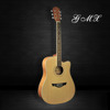 41 inches high quality plywood acoustic guitar