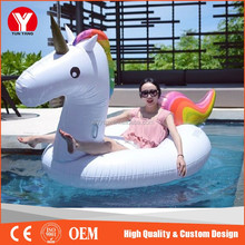 2017 Best Selling Inflatable Swimming Pool Float / Swan Pool Float / Unicorn Floating Row Water