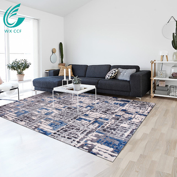 chinese printed polypropylene carpet rugs 3d design home center living room carpets for sale