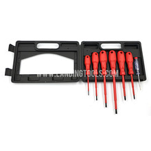 2017 popular red multi electrical insulated repairing screwdriver tool set
