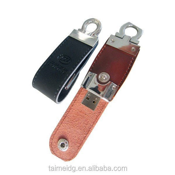 Better price brown leather usb flash