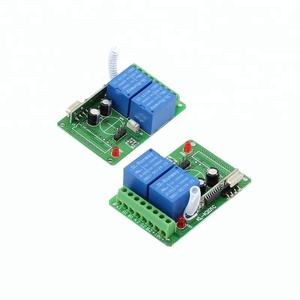 Shenzhen Factory 433MHz 12V Timer Relay Switch Module remote control for Electric Motor