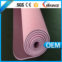 Wholesale custom tpe yoga mat from yoga mat factory in resonable and competitive price