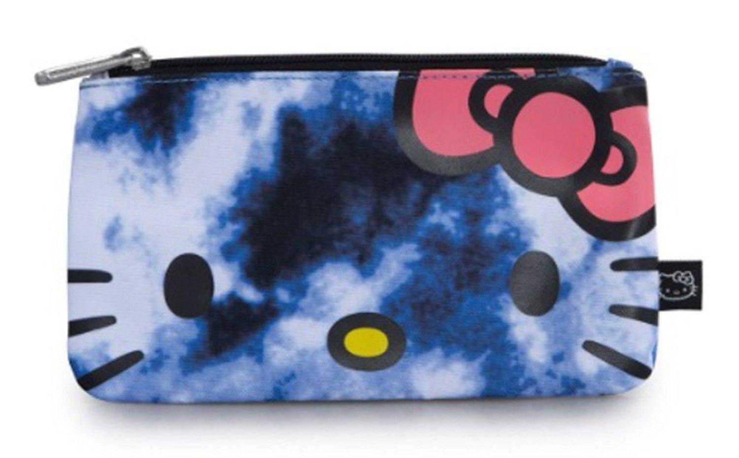121217e2d0 Buy Loungefly Hello Kitty Blue Tie Dye School Pencil Case in Cheap ...