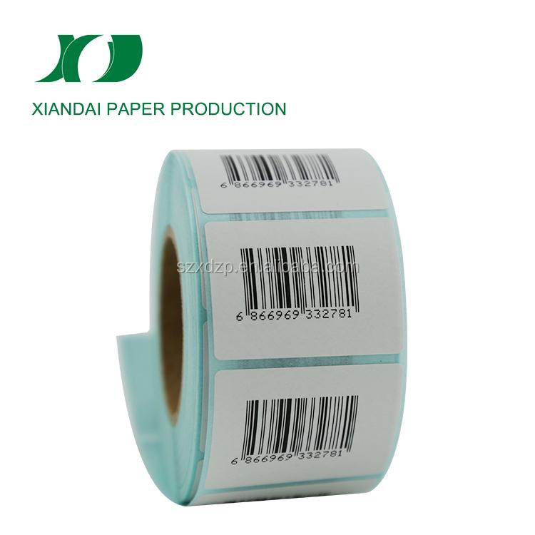 25mm Core Zebra Sato Citizen 50,000 50 x 25mm WHITE Direct Thermal Labels