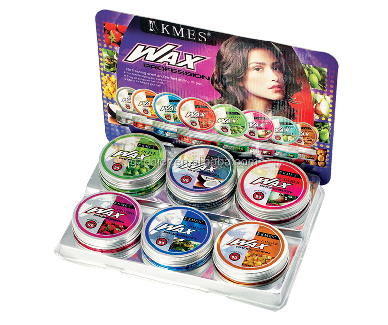kmes hair wax gel 150ml w-01 shantou Manufacturer Alcohol Free Elegance Hair Pomade Wax with More Scents