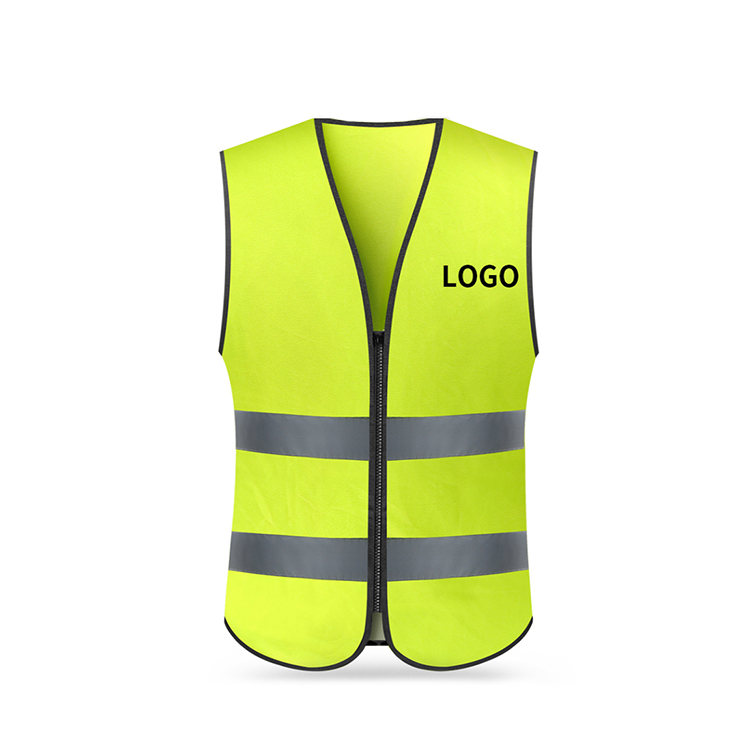 Security & Protection Workplace Safety Supplies Romantic Sfvest En471 Hi Vis Vest Safety Vest With Logo Printing Workwear Safety Jacket Free Shipping