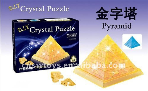 3d Crystal Puzzle (piramid gifts)