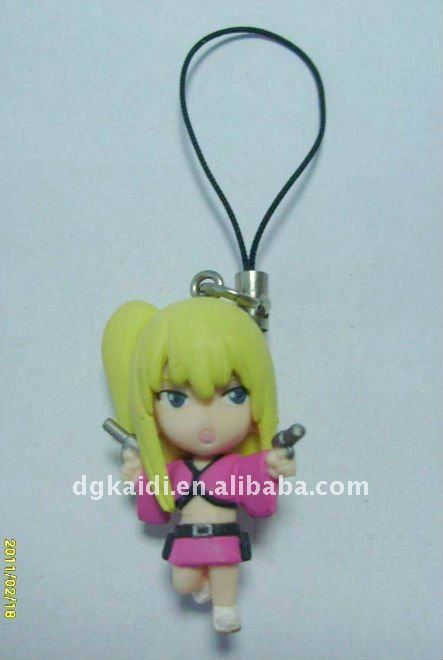 custom fashionable gril cellphone strap