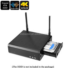 "ELEBAO R95PR0 4K Android Quad Core 3D Smart H.265 HD TV Media Player with 3.5""HDD Bay, 5G AC WIFI, , Gigabit LAN Kodi DVR"