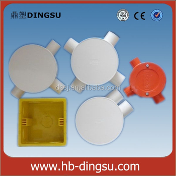 Electrical Fitting Pvc One Way Junction Box Shallow Or Deep Buy