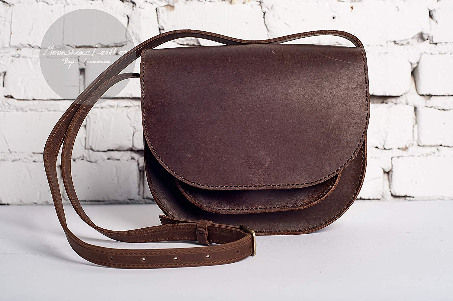 Brown crossbody bag, womens leather bag, leather handbag, leather crossbody bag, leather shoulder bag, leather handbag, cross body bag, leather saddle bag