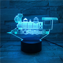 3D LED Illusion Light Laser Projecting Night Light Colors Decorate Lights for Home