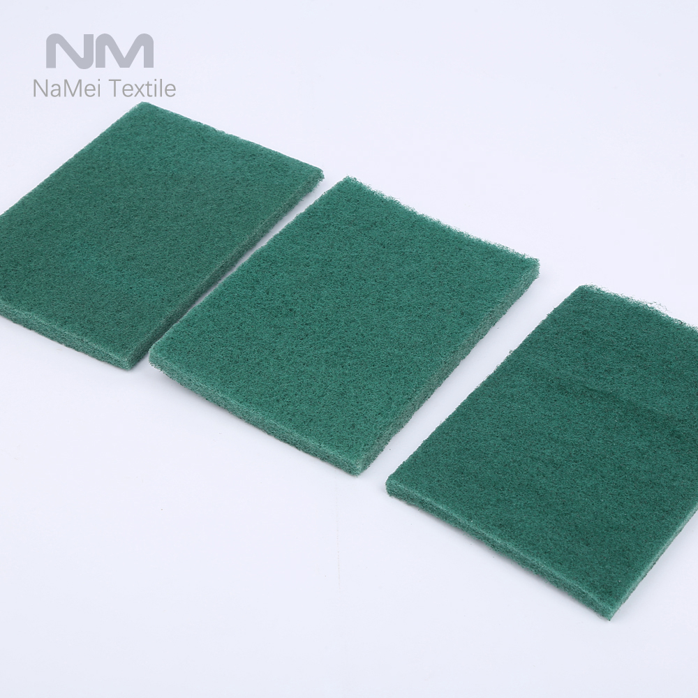 Good Price Household Green Kitchen Cleaning Washing Sponge Scourer Wholesale