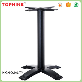 Antique Black Cast Iron Pedestal Table Base,industrial Cocktail Metal Table  Legs