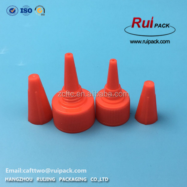 Hot sale! Screw Needle Spout Cap for squeeze Bottles Hair Perm Cap