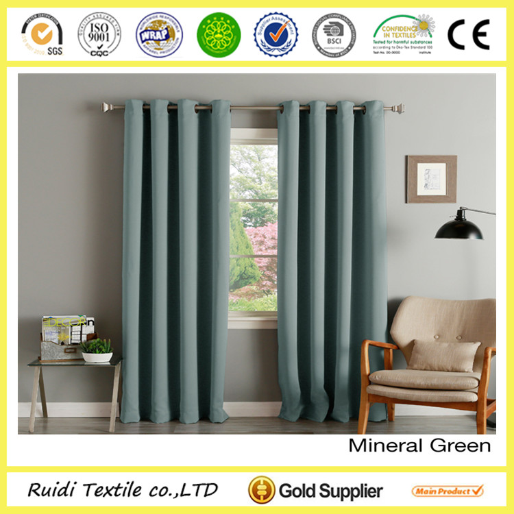 hot selling curtain type of office window curtain with multi color option