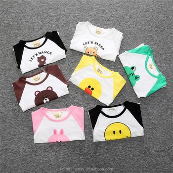 Bebe Garcon A Manches Longues Dessin Anime De Coton Bebe T Shirts