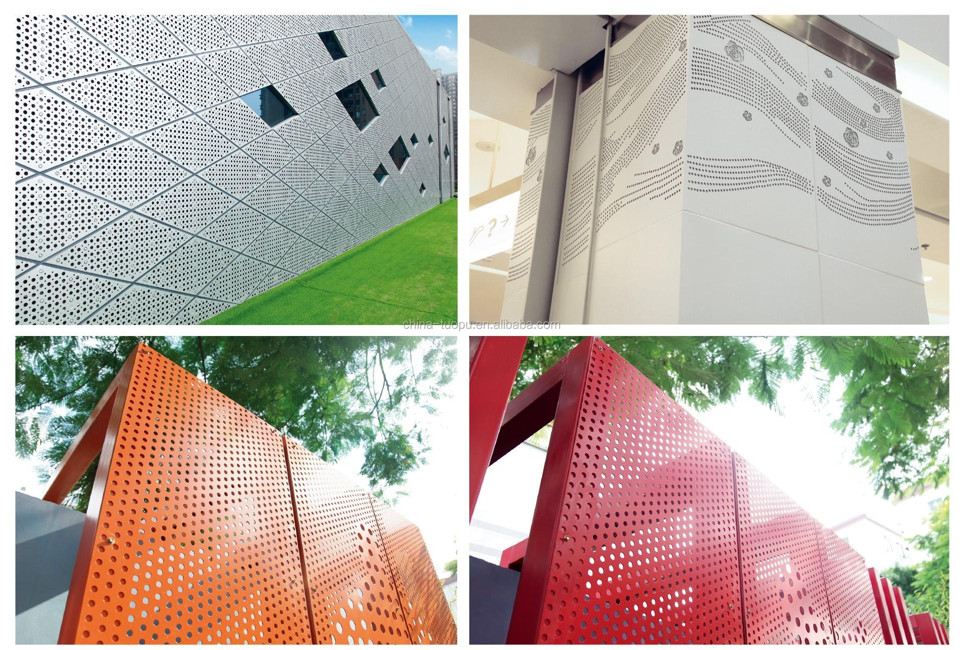 Pop Design Aluminium Perforierte Platte/Aluminium Perforierte Verbund Platten