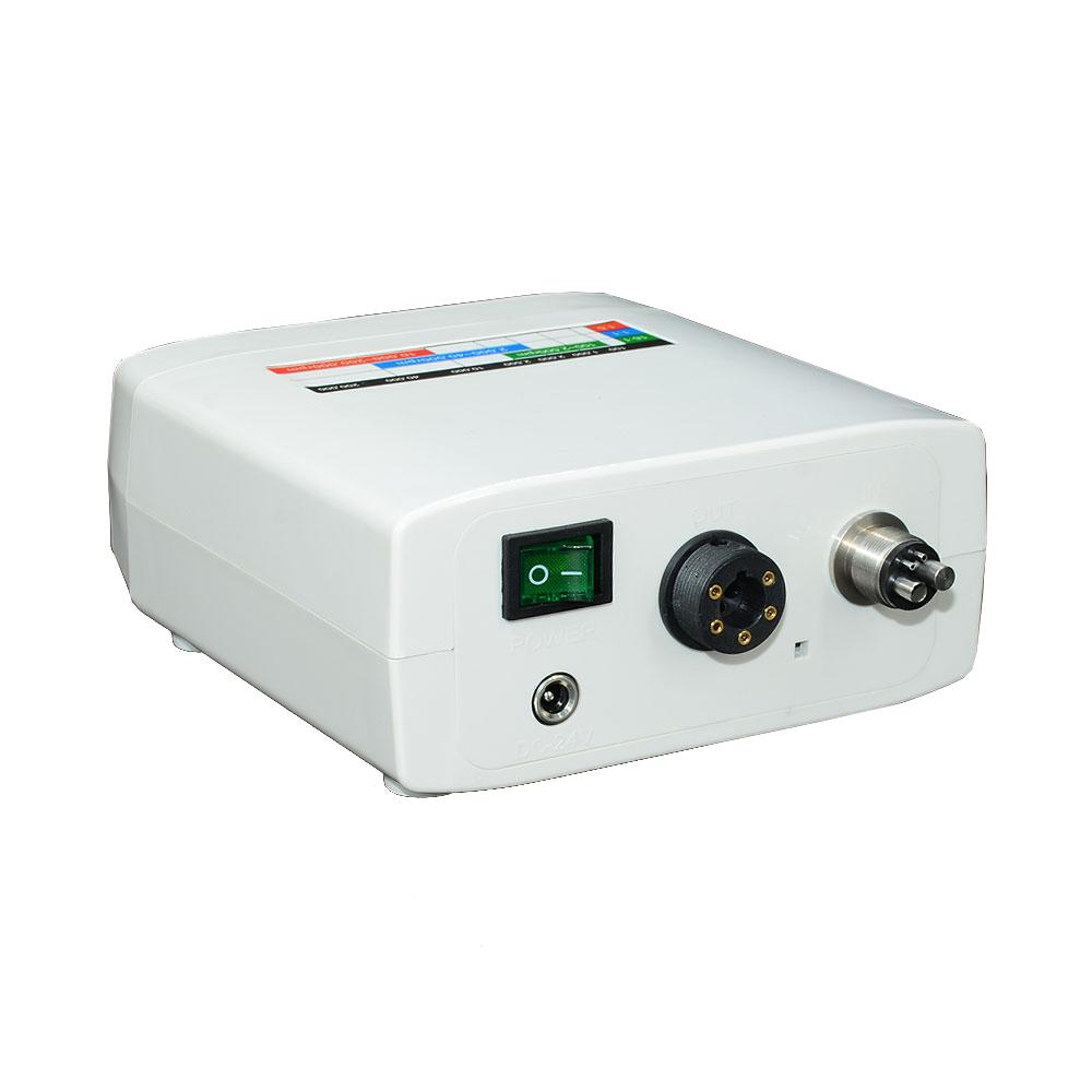 Electric micro motor internal spray with 1:5 increasing high speed handpiece dental LED light brushless motor