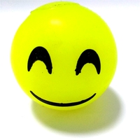 Stress ball,smile bounce ball, TPR material toys, LED light
