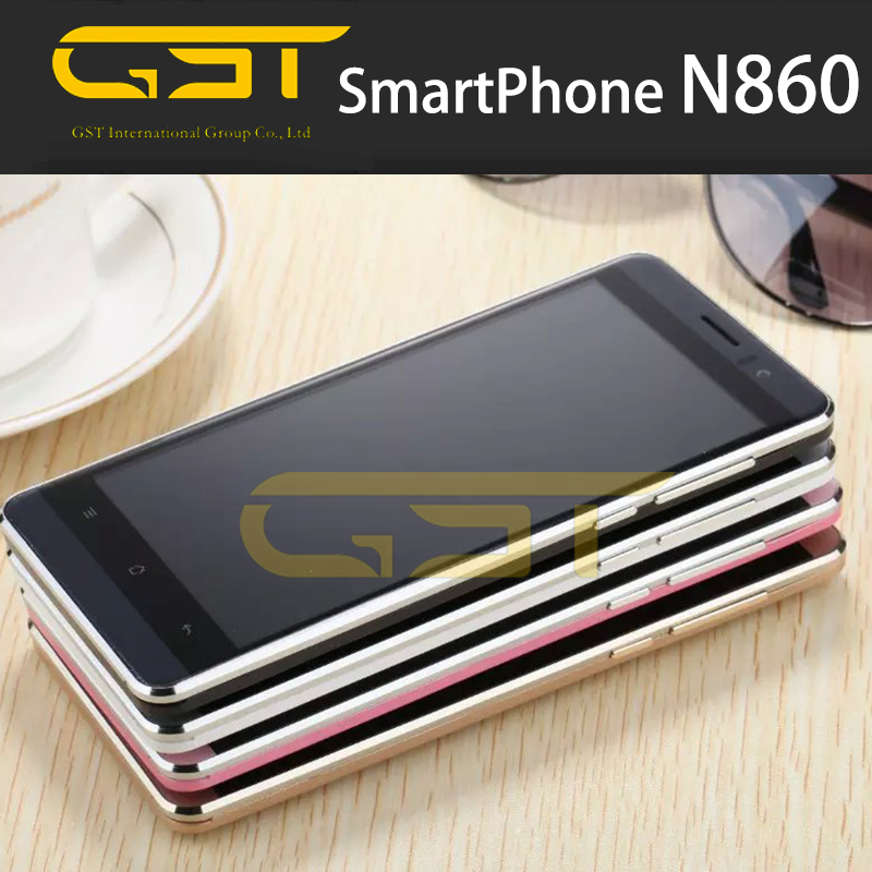New 3G Original Cheap Smartphone 5Inch Capacitive Screen MTK6580 Quad core Android5.1 Mobile phone GSM WCDMA unlock Cell Phones