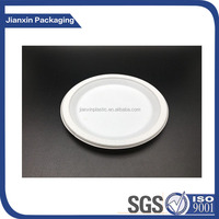 7inches Disposable Tableware Round Plastic Plate