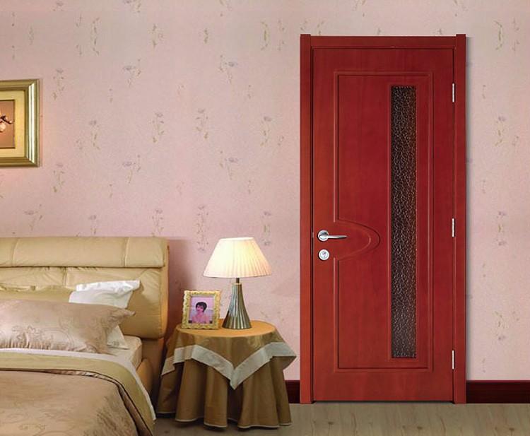 guangzhou proveedores de china ventana de madera modelos de puertas de cristal interiores puertas a prueba