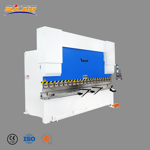 SXZG brand hydraulic steel plate 4mm electric bending machine for sale