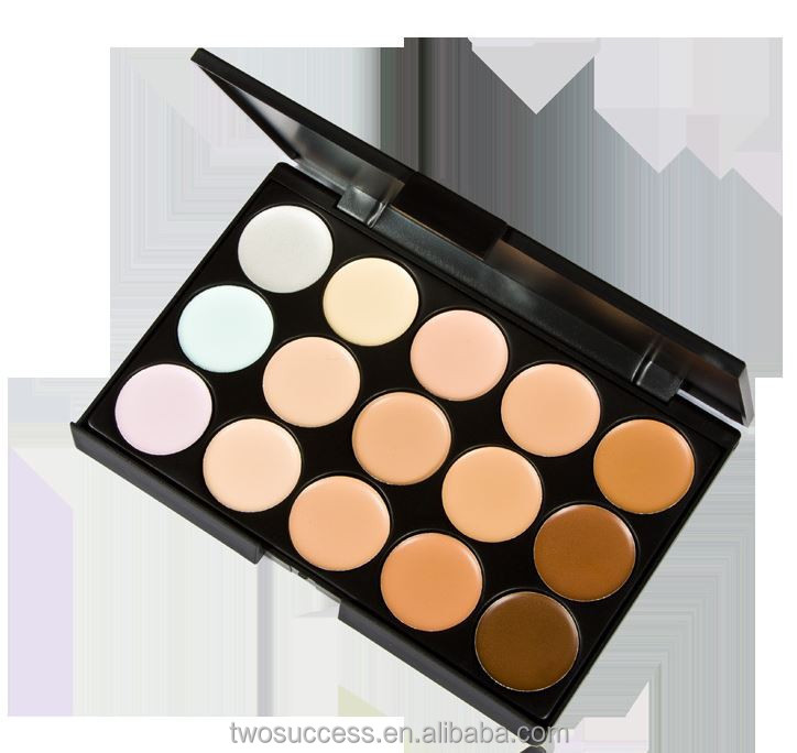 OEM 15 Color Waterproof Face Cosmetic Concealer Make Up Facial Cream Care Camouflage Palette