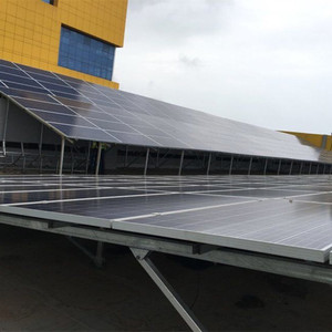 High Quality Stainless Steel Frame 30kw Solar Energy Panel Flat Roof Mounting Brackets System