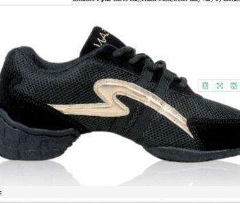 7200051 negro señoras del mens hip hop Jazz zapatillas de tacón alto zapatos  de baile 55bf7ef4712